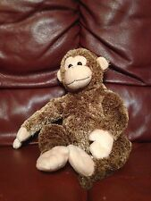 "2003 Ty Beanie Buddies BONSAI Chimpanzee Monkey 16"" Plush Multi Color/Tone  (83)"