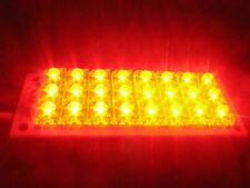 12V RED LED Lamp 24 Piranha LED Lights Mobile Panel Lighting Board