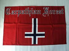 CARPATHIAN FOREST   TEXTILE FLAG