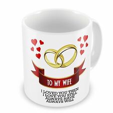 To My Wife I Loved You Then, I Love You Still... Novelty Gift Mug