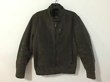 ZARA Casual Basic Jacket Dark Khaki Green Size L