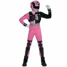 Power Rangers SPD Deluxe Pink Ranger Costume Size Med 7-8 New Medium M