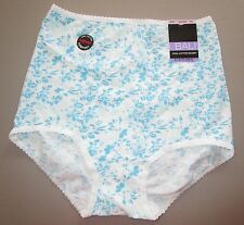 BALI~SIZE M 6~2332~Iced Petals Cool Cotton Skimp Skamp Brief Panty