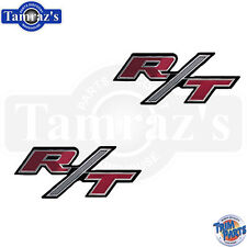 1970 Charger  R/T RT Door Scoop Side Emblem Script  Made in the USA  PAIR