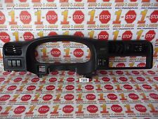 00 01 ISUZU RODEO SPEEDOMETER BEZEL W/AC VENTS & CLOCK DISPLAY OEM