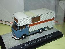 VW T3b PRISTSCHENWAGEN TISCHER CAMPING Bleu PREMIUM CLASSIXXS 11355 1:43
