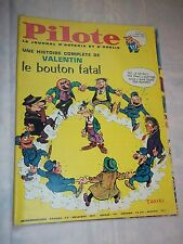 """JOURNAL """"PILOTE no 337"""" (1966) COUV. TABARY / PILOTORAMA - LES ZOULOUS"""