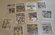 GREEN BAY PACKERS SUPER BOWL XLV CHAMPIONS 11 NEWSPAPER COLLECTION