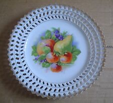Un Named Collectors Wall Plate FRUIT