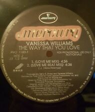 "Vanessa Williams - The Way That You Love 12"" 33RPM Vinyl Record PRO 1183-1"
