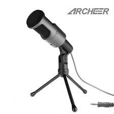 ARCHEER Studio Broadcasting & Recording Condenser Microphone Kit w/ Shock Mount