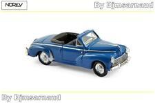 Peugeot 203 Cabriolet de 1952 Blue NOREV - NO 472370 - Echelle 1/87
