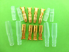 RADIO CONTROL MODEL BOAT MODEL CAR 3.9mm BRASS MALE & FEMALE BULLET CONNECTORS