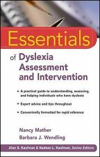 Essentials of Dyslexia Assessment and Intervention by Wendling, Barbara J., Math