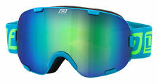 Dirty dog 54153 afterburner snow board lunettes de ski bleu/bleu vert fusion
