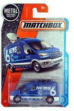 2017 Matchbox #9 '14 Ford Transit News Van