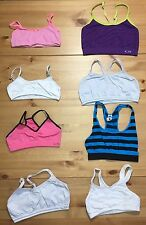 8 Size 32A Medium Girls Training Bra Lot Sports C9 Champion Racerback SO M/L 32