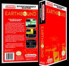 Earthbound (Mother)  - NES Reproduction Art Case/Box No Game.