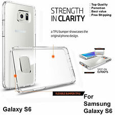 Samsung Galaxy S6 Case Cover Clear Transparent Protective Soft TPU