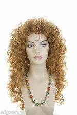 Ginger Red Long Curly Wigs