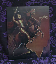 Haunted Mansion lenticular Horseman 4 image Disneyland Disney World Knight Ghost