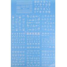 Nail Art Tip Sticker Water Transfer Stickers Decoration Anchor Cross Bowknot