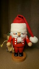 "STEINBACH GERMAN WOODEN NUTCRACKER TROLL ""SANTA"""
