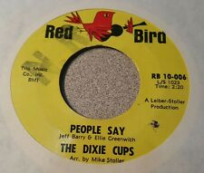 Dixie Cups, The ‎– People Say / Girls Can Tell