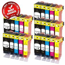 25pk NEW Ink Set w/ Chip for PGI-220 CLI-221 Canon Pixma MP640 MX860 MX870 MP560