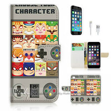 iPhone 6 Plus (5.5') Flip Wallet Case Cover! P1009 Video Game