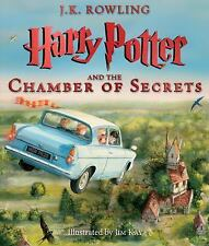 Harry Potter and the Chamber of Secrets (Illustrated Edition-BRAND NEW HARDCOVER