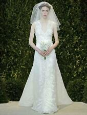 AUTHENTIC Carolina Herrera Audrey 32422 Ivory NEW Wedding Dress 8 RETURN POLICY