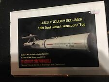 Star Trek  USS Ptolemy NCC 3801 Transport Tug Resin model 1:1000 Scale Rare!