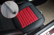 Universal Bamboo Charcoal PU leather Car seat cover  Pad Mat Chair seat cushion