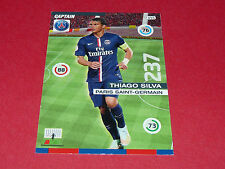 THIAGO SILVA PARIS SAINT-GERMAIN PSG FOOTBALL ADRENALYN CARD PANINI 2015-2016
