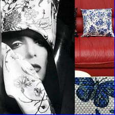 """GUCCI Limited Edition """"GRACE KELLY"""" FLORA PILLOW w/ Tag & Bag"""