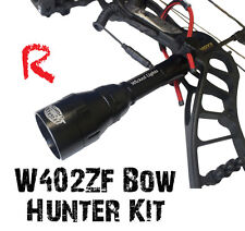 Wicked Lights W402ZF Bow Hunt Kit predator & hog night hunting light Red LED