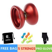 Professional Magic YOYO Ball N12 SHARK HONOR Aluminum Alloy Kids Toys Red  Ga