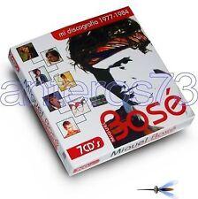 """MIGUEL BOSE """"MI DISCOGRAFIA 77-84"""" BOX 7CD LIMITED POOH - SIGILLATO"""