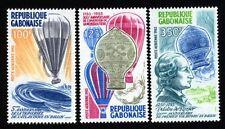 Gabun 867/69 Luftfahrt postfrisch