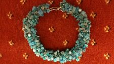 New Marks and Spencer's blue semi precious stone neclace