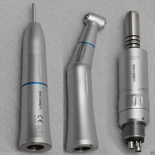 Dental Slow Low Speed Push Button Handpieces Kit Inner Water Spray Fit KAVO