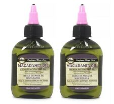 2 PK $9 MACADAMIA OIL Difeel Sunflower Mega Care 2.5 OZ Each FAST SHIPPING
