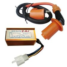 Racing CDI Box + Ignition Coil SSR Taotao Coolster Roketa Baja Pit Bike ATV 125
