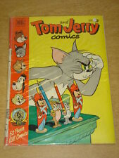 TOM AND JERRY COMICS #86 VG- (3.5) DELL COMICS SEPTEMBER 1951