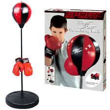 Kings Sport Boxing Punching Bag w/ Ball Stand & Gloves PS143 Kids Toy