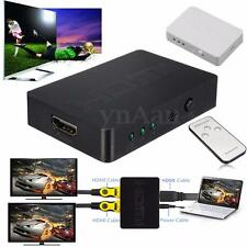 3 Port 1080P HDMI Splitter Switch Switcher Selector Hub for PS3 4 XBOX TV 3D PC