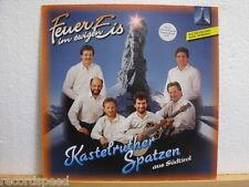 """★★ 12"""" LP - KASTELRUTHER SPATZEN - Feuer Im Ewigen Eis - Koch International 1990"""