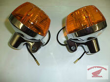 GENUINE HONDA OEM NEW REAR TURN SIGNAL SET OF TWO