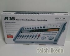 Zoom R16 Digital Multi Track SD Recorder Controller and Interface EMS SHIPPING